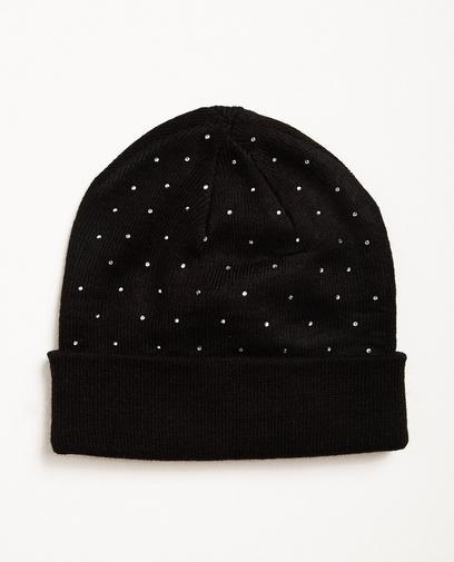 Mütze mit Strass